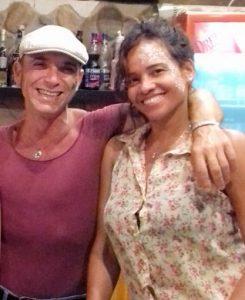 Anita & Davide - Appetizers and nice mojitos to Oasi Favignana