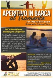 Villaggio Albergo Oasi Favgnana - Aperitivo in barca al tramonto
