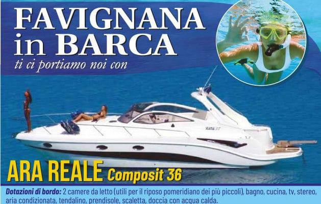 Favignana trips by yacht